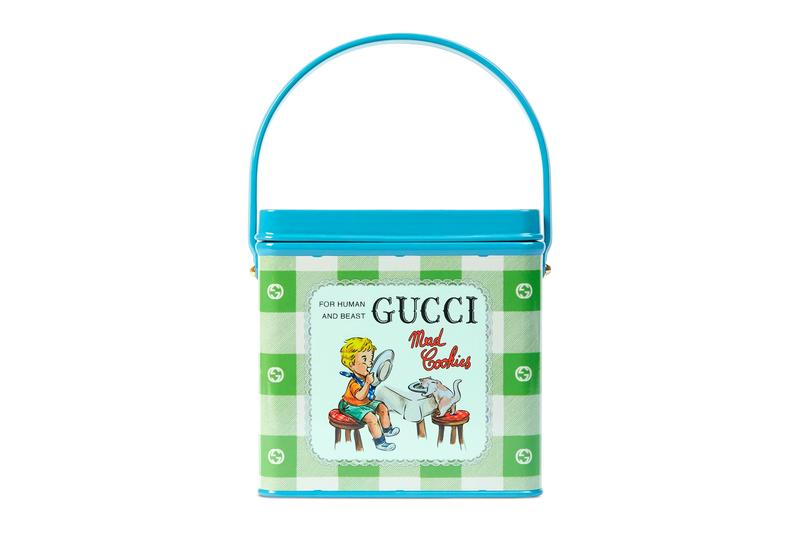 """Gucci's """"Mad Cookies"""" Top Handle Handbag Is Inspired by Vintage Lunch Boxes cookies bags 3d printing accessories"""