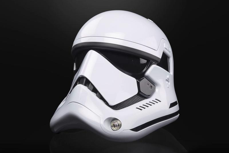 Hasbro Star Wars The Black Series First Order Stormtrooper Helmet star wars jedi sith empire collectibles toys lucasfilms skywalker force awakens movies props hasbro pulse