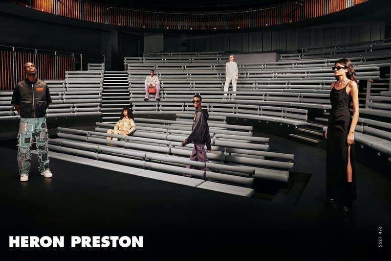 Heron Preston Reveals SS21 K.I.S.S Campaign Spring Summer 2021 Keep It Simple Stupid fashion ad campaign e-commerce collection basics womenswear menswear HeronPreston.com Covid-19 Pandemic DNA Milan ready-to-wear