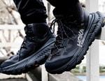 HOKA ONE ONE's Imposing TenNine Hike Boot Arrives in Muted Black