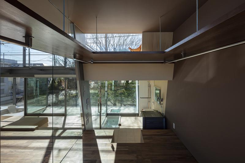 "Aisaka Architects' Atelier's ""House in Tsukuba"" interior design exterior building layout home japan kanto"