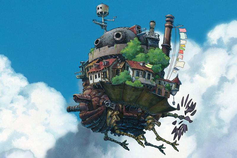 Here's a First Look at the Real Howl's Moving Castle in Studio Ghibli's Theme Park