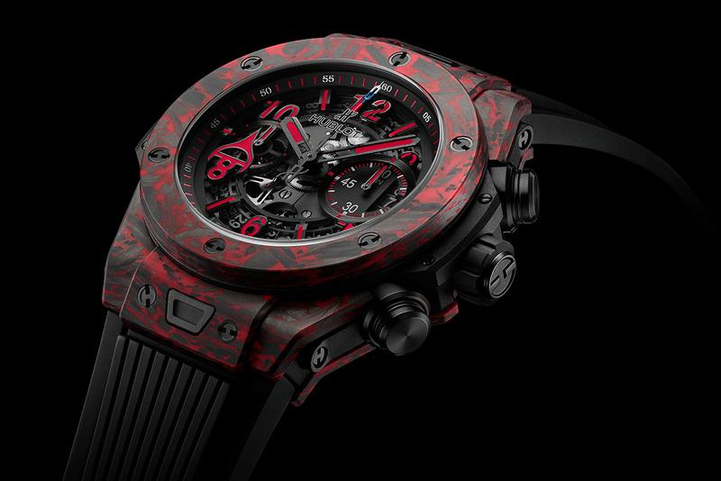 Hublot Honors Ice Hockey Great With Big Bang Unico Red Carbon