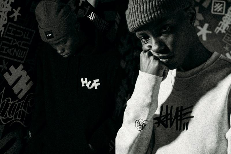 HUF Eric Haze 2021 Capsule Collection Collaboration HUF x HAZE New York City artist NYC Joshua Prince Dust La Rock Fool's Gold Records Graffiti artist