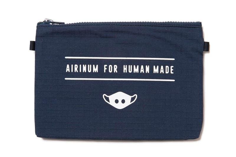 HUMAN MADE Airinum Urban Air Mask 2.0 Release Info Black Grey Navy