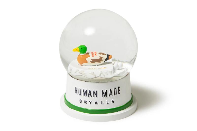HUMAN MADE Duck Snow Globe collectible accessories home good home ware spring summer 2021 ss21 collection lineup streetwear nigo info