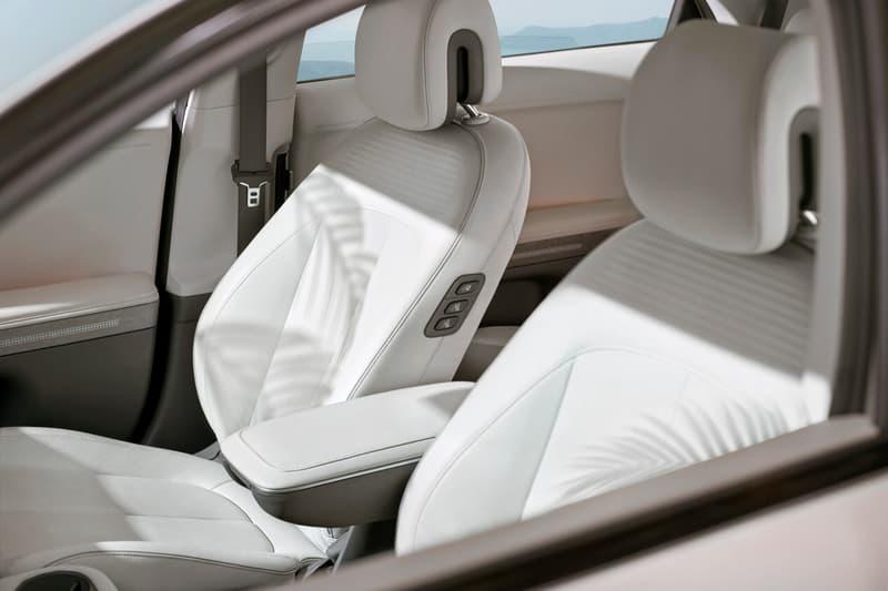 Hyundai IONIQ 5 All Electric Mid-Sized EV City Car Medium Family Cars South Korean Manufacturer Design Details Modern Contemporary Tesla Model 3 Rival Elon Musk