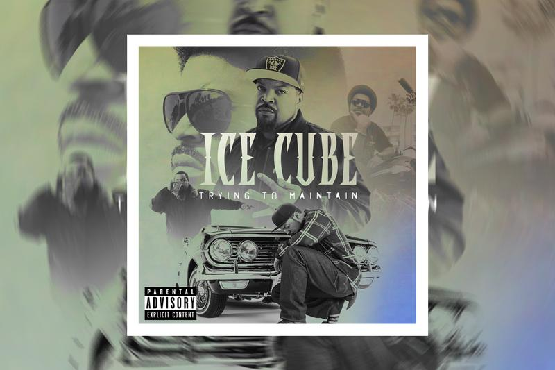 Ice Cube Trying To Maintain Song Stream tracks singles rappers hip hop nwa with attitude O Shea Jackson info