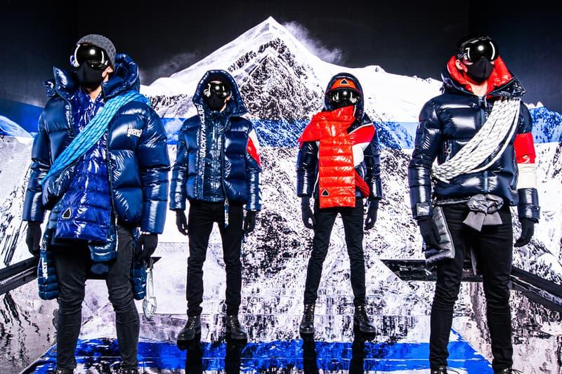 british outerwear label james holder alpine aw21 puffer jacket