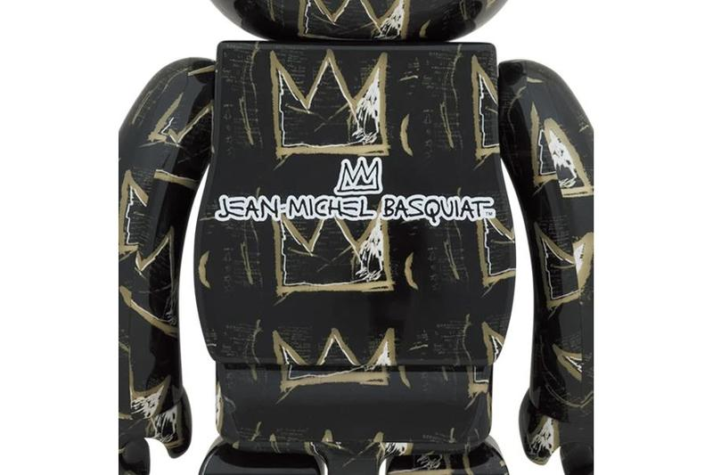 jean michel basquiat artist medicom toy bearbrick 1000 percent black gold crowns official release date info photos price store list buying guide