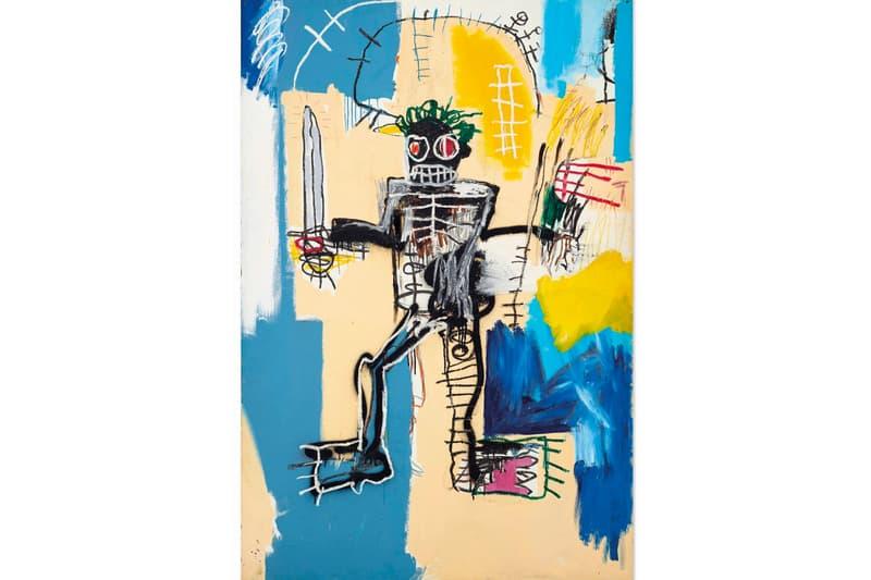 $31m USD Jean-Michel Basquiat Auctioned at Christie's Asia Hong Kong We Are All Warriors 1982 Warrior Herbet Neumann Cristian Albu Art news Sotheby's London Tokyo Akira Ikeda Gallery Paris Vienna Milan Joan Miro Alexander Calder Rene Magritte