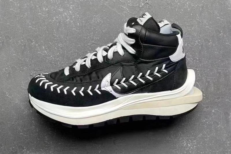 Jean Paul Gaultier sacai Nike LDVaporwaffle Mix Release Details Info Date Buy Price Black White Sesame Blue Void Chitose Abe