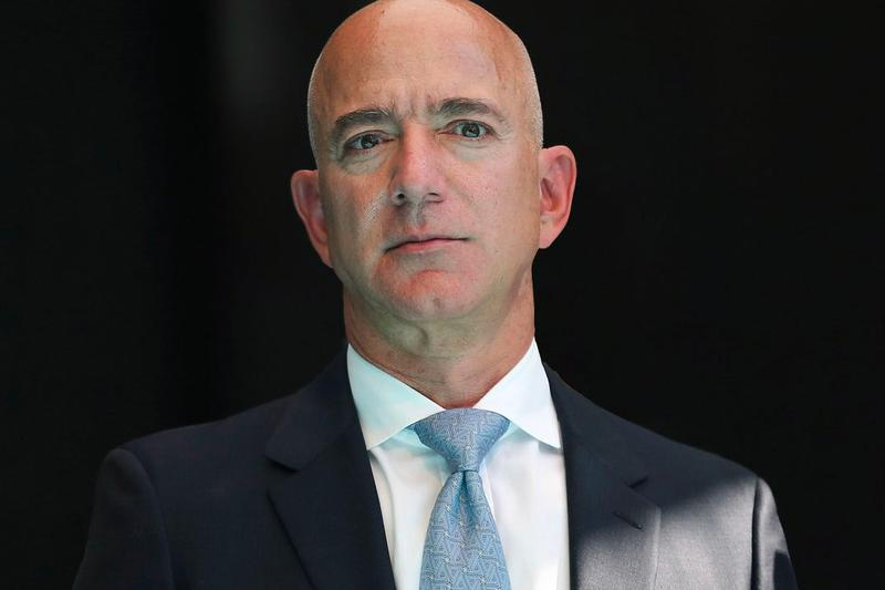 Jeff Bezos Stepping Down Amazon CEO Role Info Bezos Earth Fund Blue Origin The Washington Post Amazon Day 1 Fund Andy Jassy