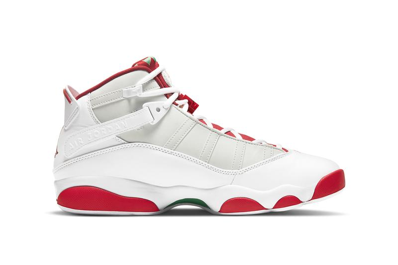 air michael jordan brand 6 rings hare white silver red black DD5077 105 official release date info photos price store list buying guide