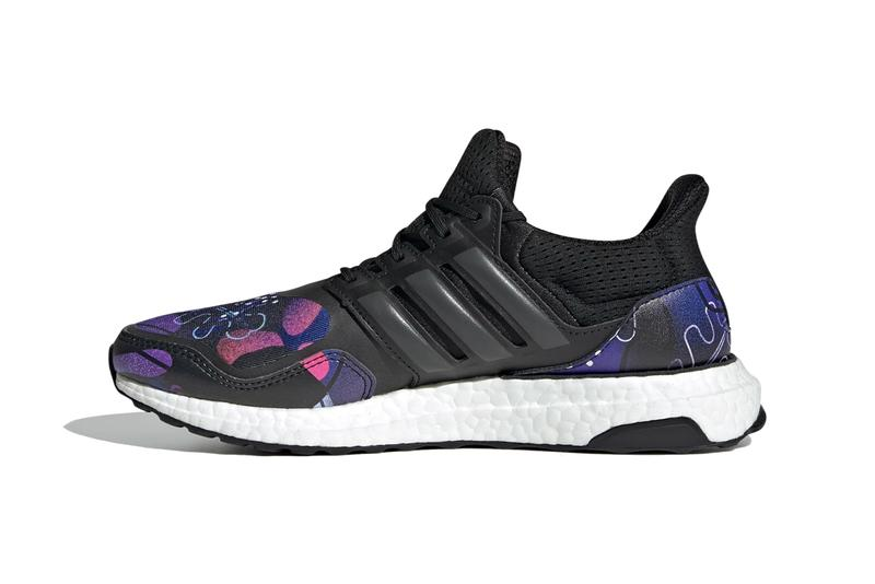 jordan e moss adidas originals running ultraboost dna core black grey six night flash FZ29177 blue red official release date info photos price store list buying guide