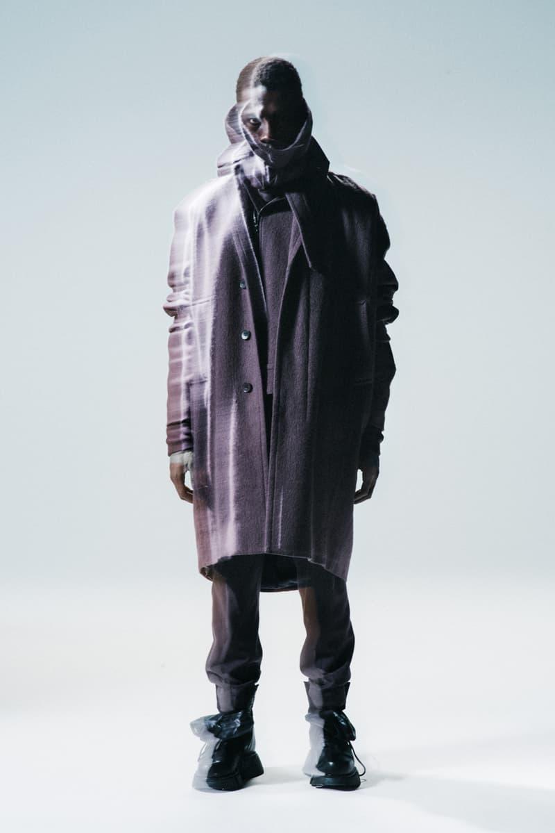 JULIUS Fall/Winter 2021 Collection Lookbook fw21 japan tatsuro horikawa menswear