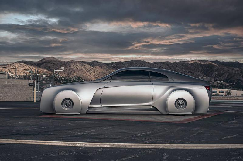 Check Out Justin Bieber's Futuristic Rolls Royce Wraith 103EX West Coast Customs Rolls Royce 103EX Vision 100 BMW Vision Next 100