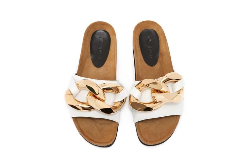 JW Anderson Chain Loafer Slide Slides Release Information JWA Irish Designer London Soho Store Footwear Shoe Indoors Cozy Pandemic Work From Home Style Spring Summer Design Mens Women Unisex