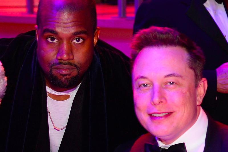 Kanye West Elon Musk Clubhouse Session tesla spacex rapper hip hop artist discussion topic app platform info