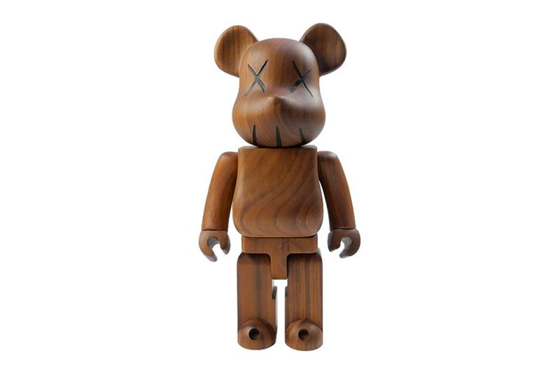 kaws medicom toy wood bearbrick figure release info store list price photos buying guide 400 percent