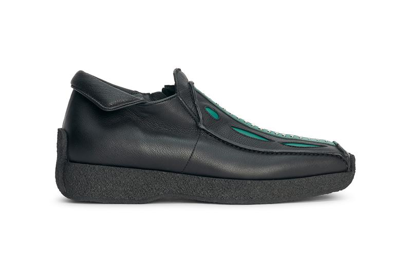 Kiko Kostadinov Norman Shoes Night Tulip Alpine Green Spring Summer 2021 SS21 Footwear Renaissance 00102021 SIROKKÓ Nappa Leather