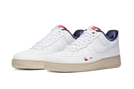 """Official Look at the KITH x Nike Air Force 1 Low """"Paris"""""""