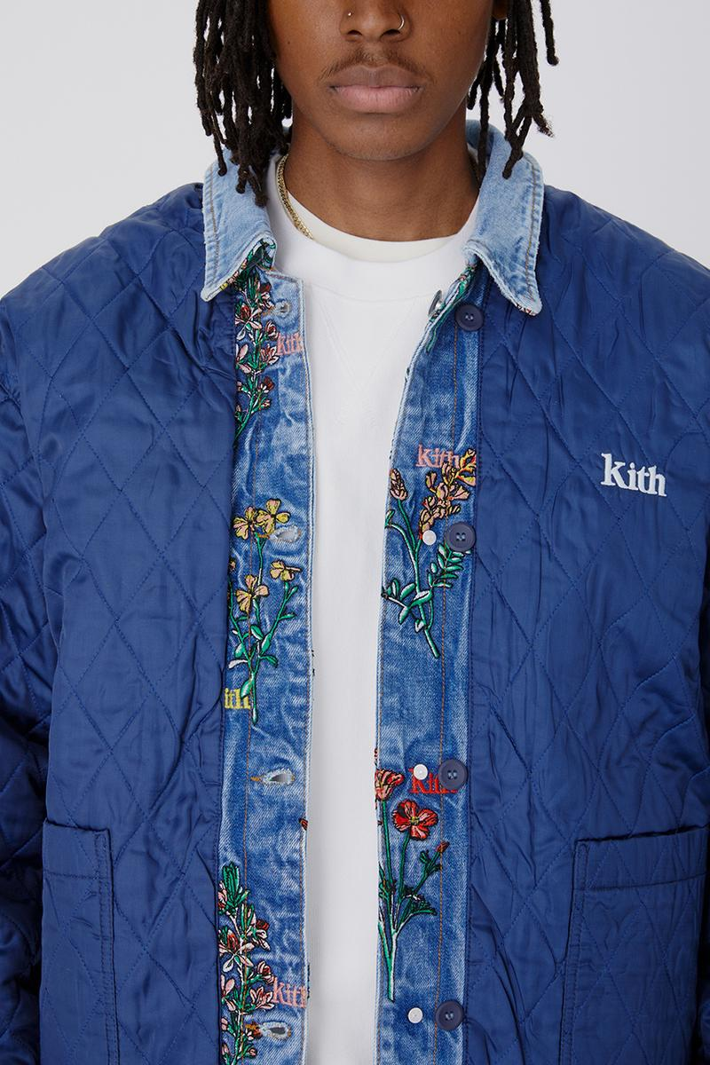 kith spring 2021 birkenstock nemen advisory board crystals nike air force 1 low paris bandana paisley release details lookbook moroccan stripe botanical embroidery