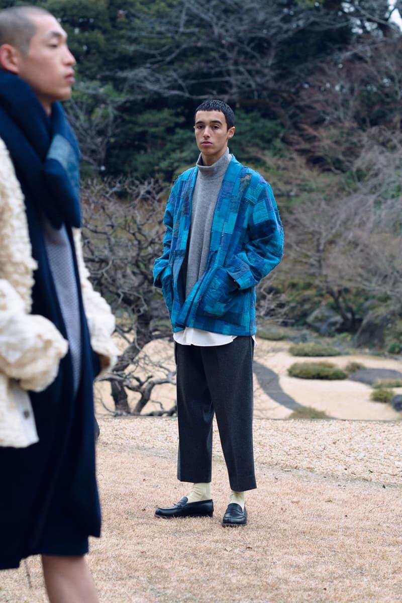 KUON Fall/Winter 2021 Collection Lookbook fw21 shinichiro ishibashi menswear japan release date buy info brand boro patchwork sashiko sakiori washi