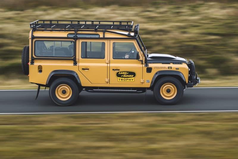 land rover classic defender works v8 camel trophy homage tribute competition vintage retro limited edition 25