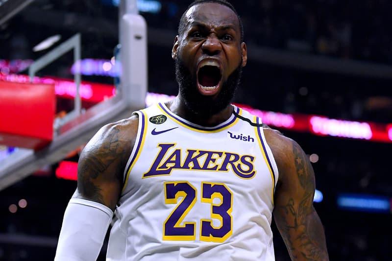LeBron James NBA History 35,000 Career Points Los Angeles Lakers League History Brooklyn Nets Kareem Abdul-Jabbar Karl Malone James Harden Kyrie Irving
