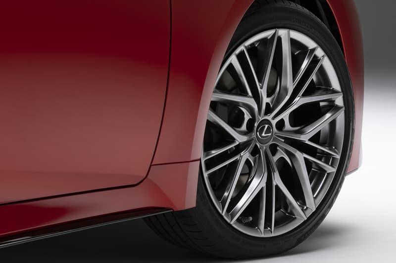 lexus 2022 is 500 f sport performance luxury sedan v8 engine