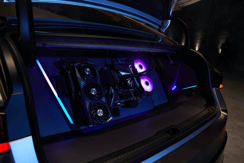 """Lexus Gamers' IS Twitch Community Design Collaboration Partnership Lexus puts gamers in the driving seat Infiltrate exterior wrap Neon Tokyo interiors Cyber-themed 3D printed controller SCPS sports sedan lexus is 350 f sport fuslie streamer twitch rivals los angeles """"all in"""" campaign 2021 lexus IS"""
