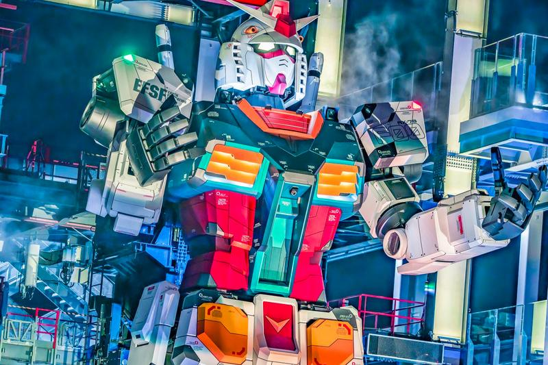 Life-Size Gundam Anime Like Photos Factory Yokohama Where How to Get
