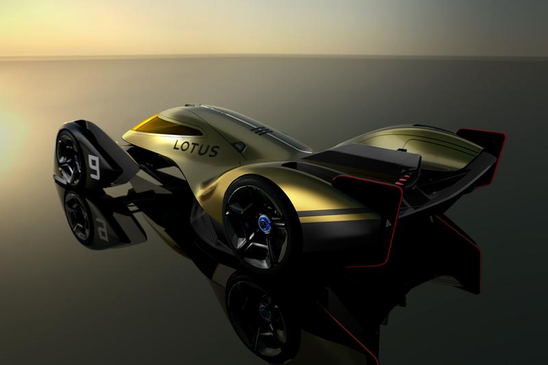 Lotus E-R9 Next-Generation Race Car 2030 Design Study Concepts British Automotive Company Evija Hypercar Pure Electric EV Drivetrain Speed Power Performance MPH Aerodynamic Fighter Jets