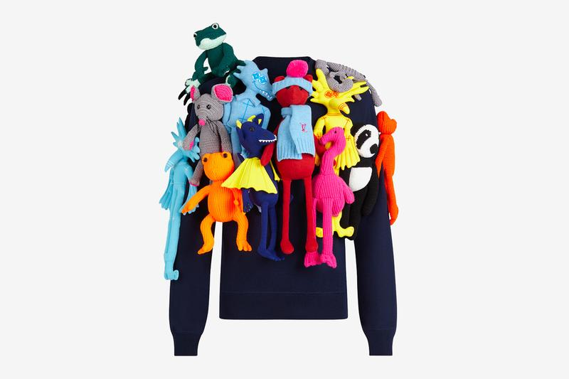 "Louis Vuitton Controversial ""PUPPETS ALL-OVER"" Crewneck Could be Yours for $8,000 USD"