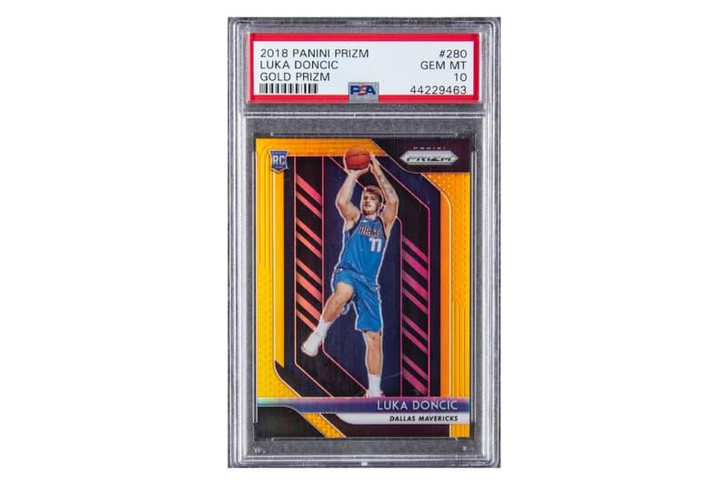 Luka Doncic NBA Rookie Card $800K USD Auction Goldin Auction Dallas Mavericks Kobe Bryant Anthony Davis Michael Jordan Patrick Mahomes Trading Cards Sports Cards Sports Memorabilia Basketball