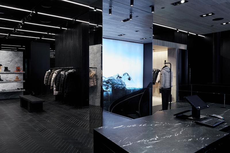 canadian luxury outerwear new york flag ship store opening beau stanton