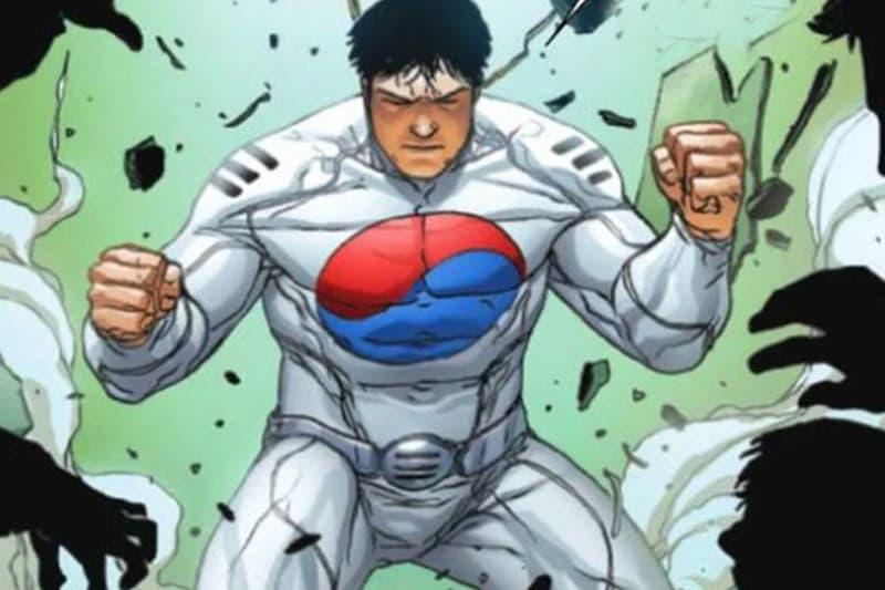 Marvel Comics south Korea Hero Taegukgi news White Fox Taskmaster South Korean Marvel's Agent of Atlas series Jed MacKay Allessandro Vitti Guru-eFX Joe Caramanga comic books