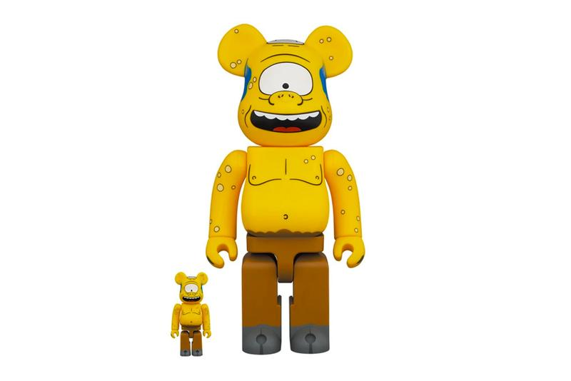The Simpsons Medicom Toy BEARBRICK Cyclops 100 400 1000 toys accessories designer tv series show odyssey homer one eye odysseus figure decorations info