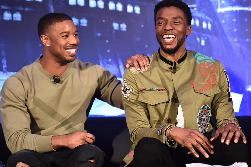 black panther marvel michael b jordan chadwick boseman cancer death interview comments open up