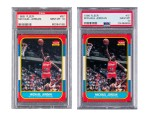 Two 1986 Michael Jordan Rookie Cards Sell for a Record-Setting $738K USD Each at Auction