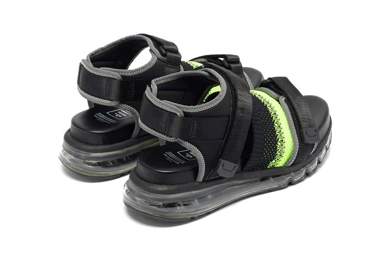 Mihara Yasuhiro Velcro-Strap Nylon Sandals Info release information matchesfashion
