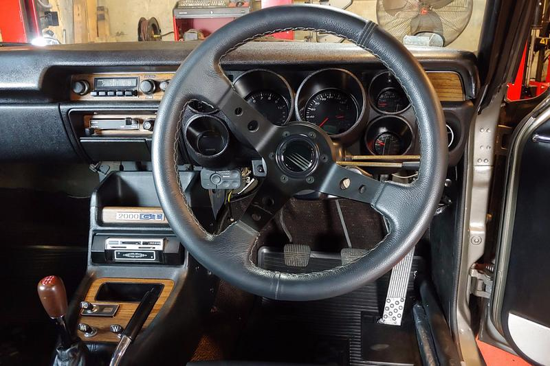 Modified 1972 Nissan Skyline KGC10 2000GT GT-R Coupe Hakosuka  JDM Classic Tuned Custom Build For Sale Kenmeri Bring a Trailer Rebello Racing 3.2-liter inline-six Engine