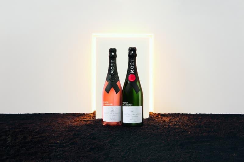 champagne Moët Impérial & Nectar Impérial Rosé Yoon Ahn AMBUSH design Dior Homme Jewelry designer nature World Land Trust minimalism