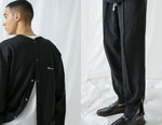 monkey time Suits up in Customized Champion Sweats