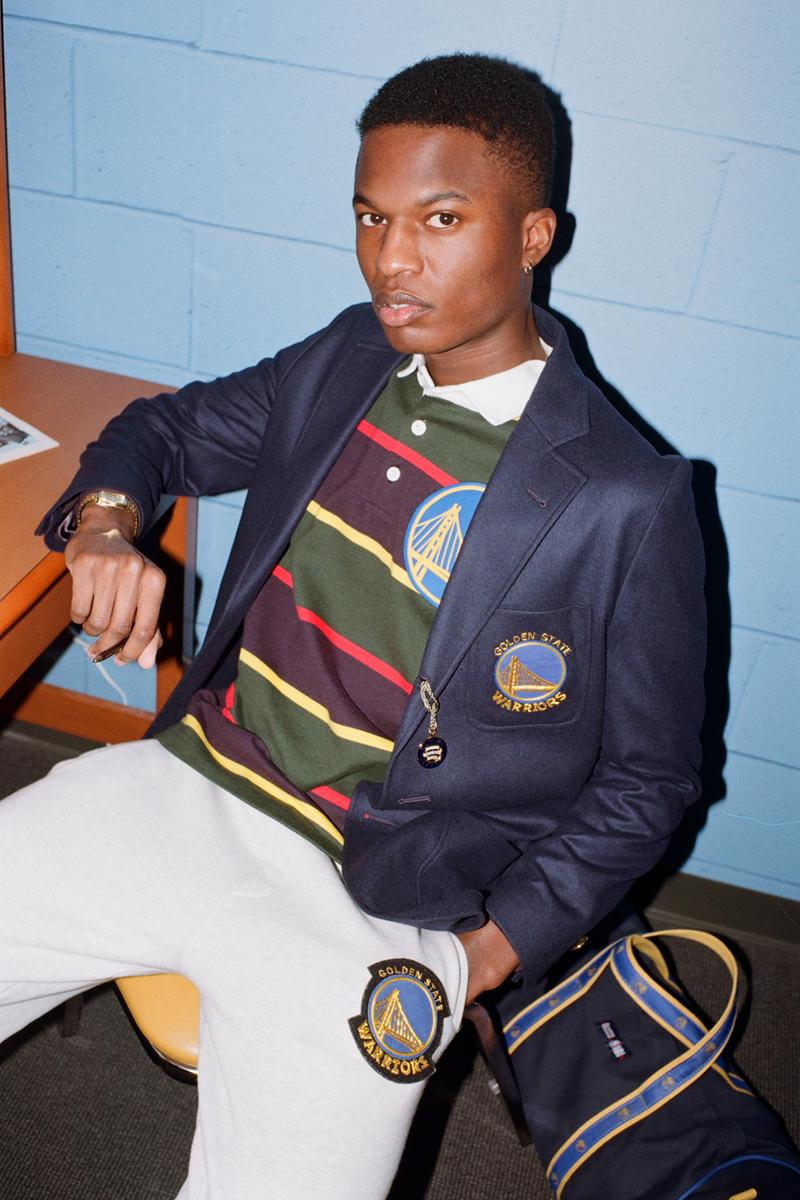 NBA x Rowing Blazers National Basketball Association Collection Collaboration Men's Women's Limited Edition B Ball Lookbooks Jack Carlson American Ivy League Collegiate Style New York Knicks Brooklyn Nets Boston Celtics Chicago Bulls Los Angeles Lakers Golden State Warriors