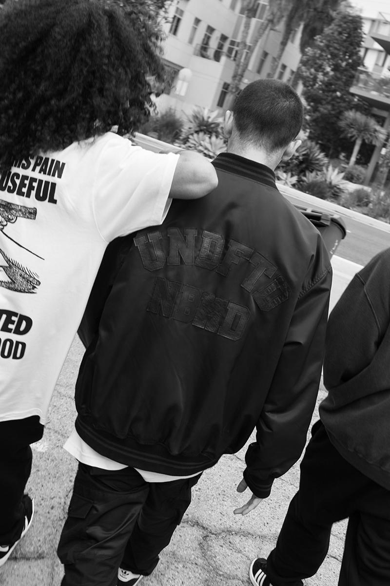NEIGHBORHOOD  UNDEFEATED Spring Summer 2021 Capsule menswear streetwear t shirts tees jackets hoodies trousers pants ceramics info