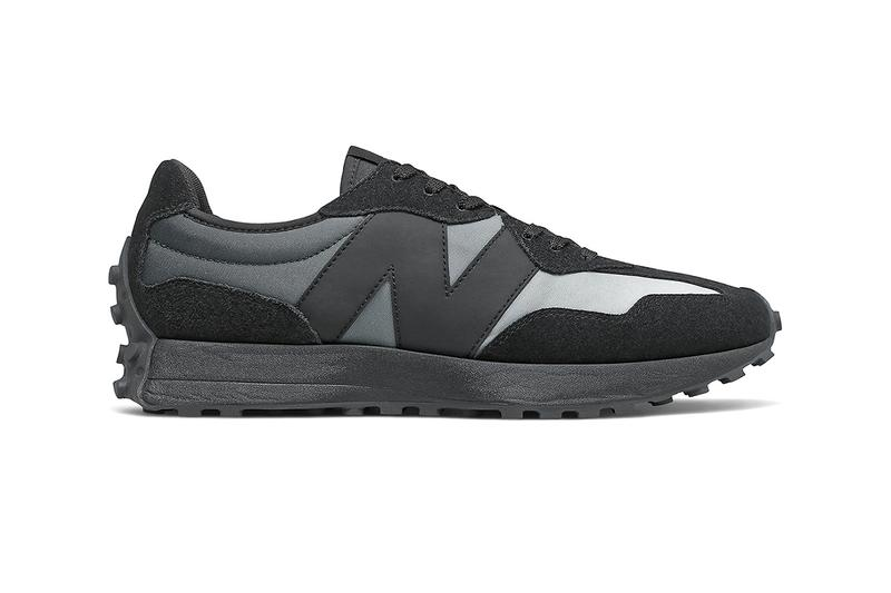 new balance 327 footwear sneakers black summer fog most talked about fashion trainers running 70s retro contemporary