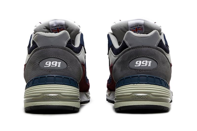 new balance 991 navy red made in uk release info store list buying guide price photos size