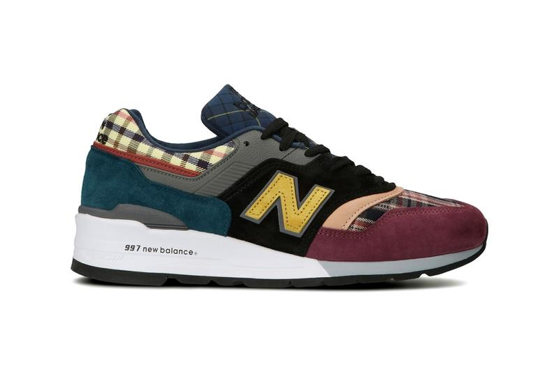 "New Balance Japan 997 1300 ""Plaid Pack"" Release Information Closer First Look Sneaker Drop Date Shoe Footwear NB Made in USA ENCAP Pigskin Suede"